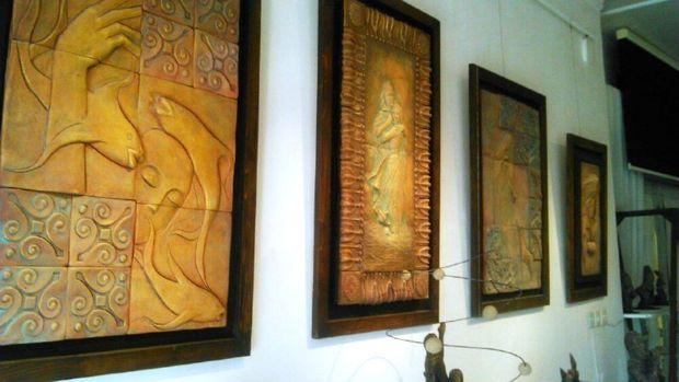 نمایشگاه مجسمهسازی و آثار حجمی هنرمند خویی گشایش یافت
