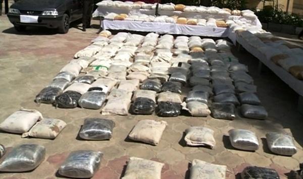 کشف 137 کیلوگرم مواد مخدر در مشگین شهر