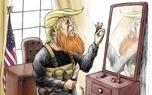 ترامپ همان ابوبکر البغدادی داعش است
