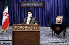 نشست تصویری رهبر انقلاب با جلسه هیئت وزیران
