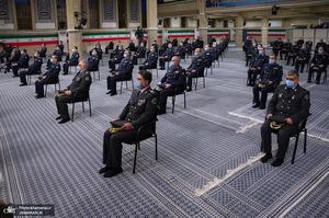 دیدار فرماندهان و کارکنان نیروی هوایی ارتش با فرمانده معظم کل قوا