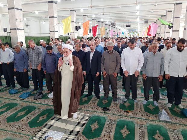 نماز عید قربان در کرمانشاه اقامه شد