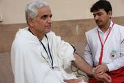پزشکان هلال احمر کرمان به ۳۰۰۰ زائر حج تمتع خدمات میدهند