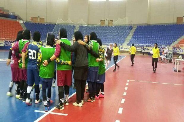 تیم فوتسال بانوان نامینو اصفهان از مس رفسنجان شکست خورد