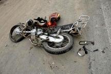 واژگونی موتورسیکلت در کهنوج یک فوتی بر جای گذاشت