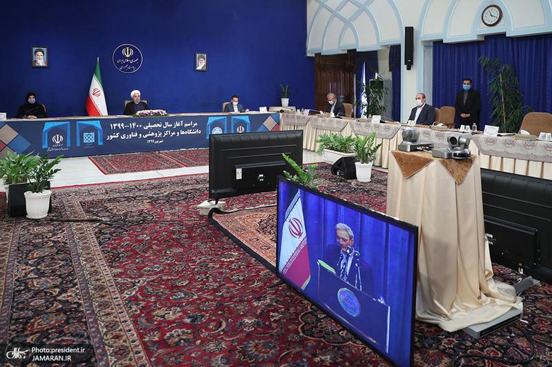 مراسم آغاز سال تحصیلی دانشگاه ها با حضور رئیس جمهور