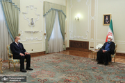 روحانی: آیت الله سیستانی همواره نزد مردم و دولت ایران مورد احترام بوده است