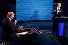 حواشی نخستین دوئل ترامپ و بایدن: مناظره یا فحاشی؟!+ تصاویر