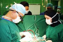 امسال 56عمل جراحی شکاف کام و لب در این بیمارستان انجام شد