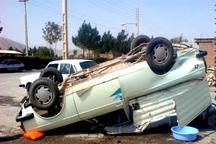 واژگونی وانت پیکان در کهنوج یک کشته برجا گذاشت