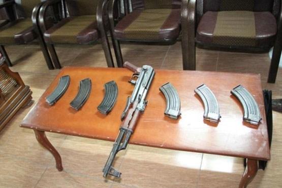 کشف محموله سلاح جنگی در خوزستان