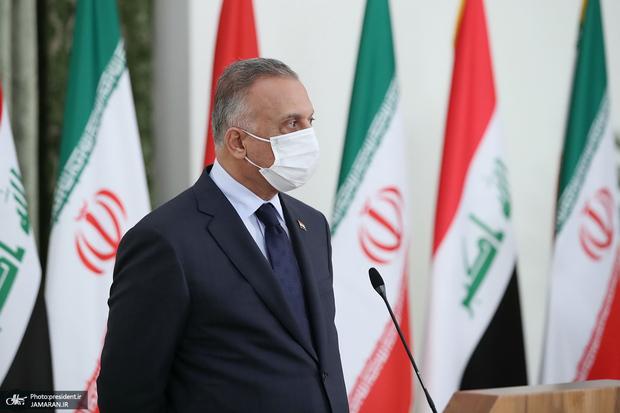 پیام نخست وزیر عراق به ایران: از هیچ تصمیمی علیه تهران حمایت نمیکنیم