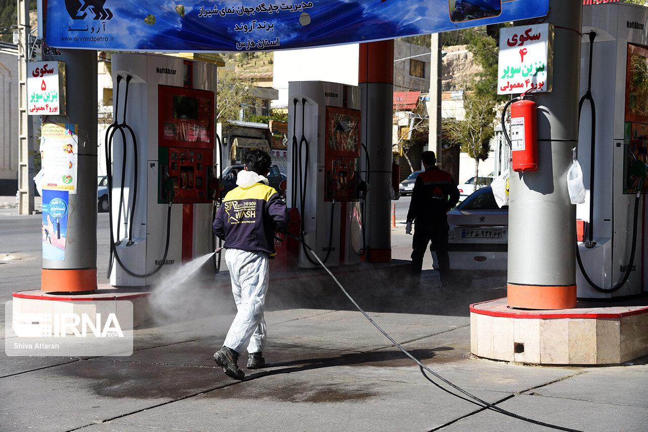 مصرف بنزین در فارس ۳۲ درصد کاهش یافت