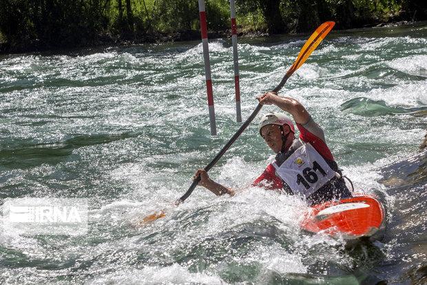حضور پاروزن گیلانی در مرحله جدید اردوی تیم ملی قایقرانی اسلالوم