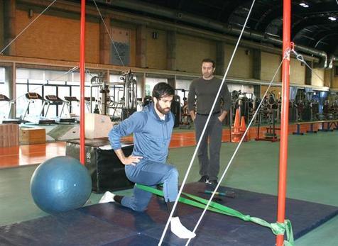تمرینات سنگین تفتیان پیش از اردوی آماده سازی در فرانسه