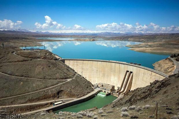 ۸۳۴ میلیون مترمکعب آب پشت سدهای کرمانشاه ذخیره شد