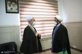 دیدار سرپرست موسسه تنظیم و نشر آثار امام خمینی(ره) با آیت الله اعرافی