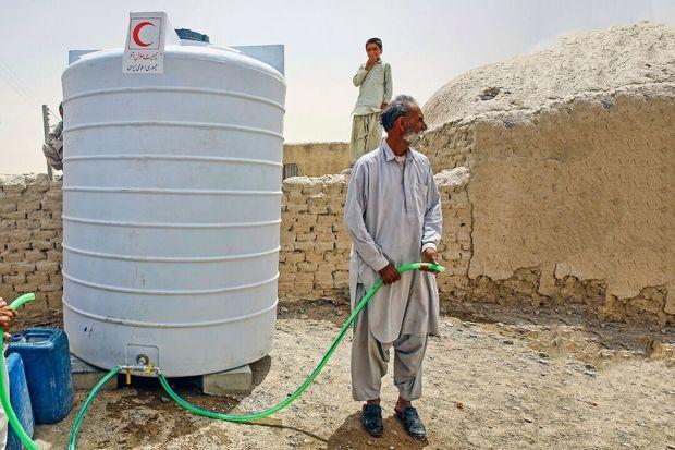کاروان امدادی البرز راهی سیستان و بلوچستان شد