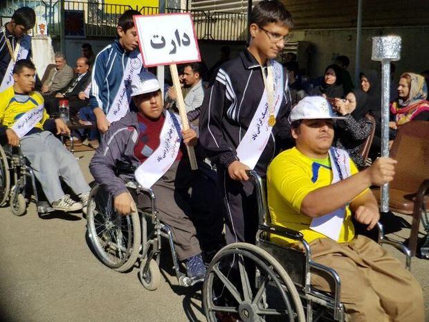 مسابقات پارالمپیک دانشآموزان با نیاز ویژه در کردستان آغاز شد