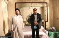 حضور شهردار تهران در جماران