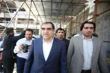 وزیر بهداشت و درمان از طرح نوسازی بیمارستان ولیعصر (عج) اراک بازدید کرد