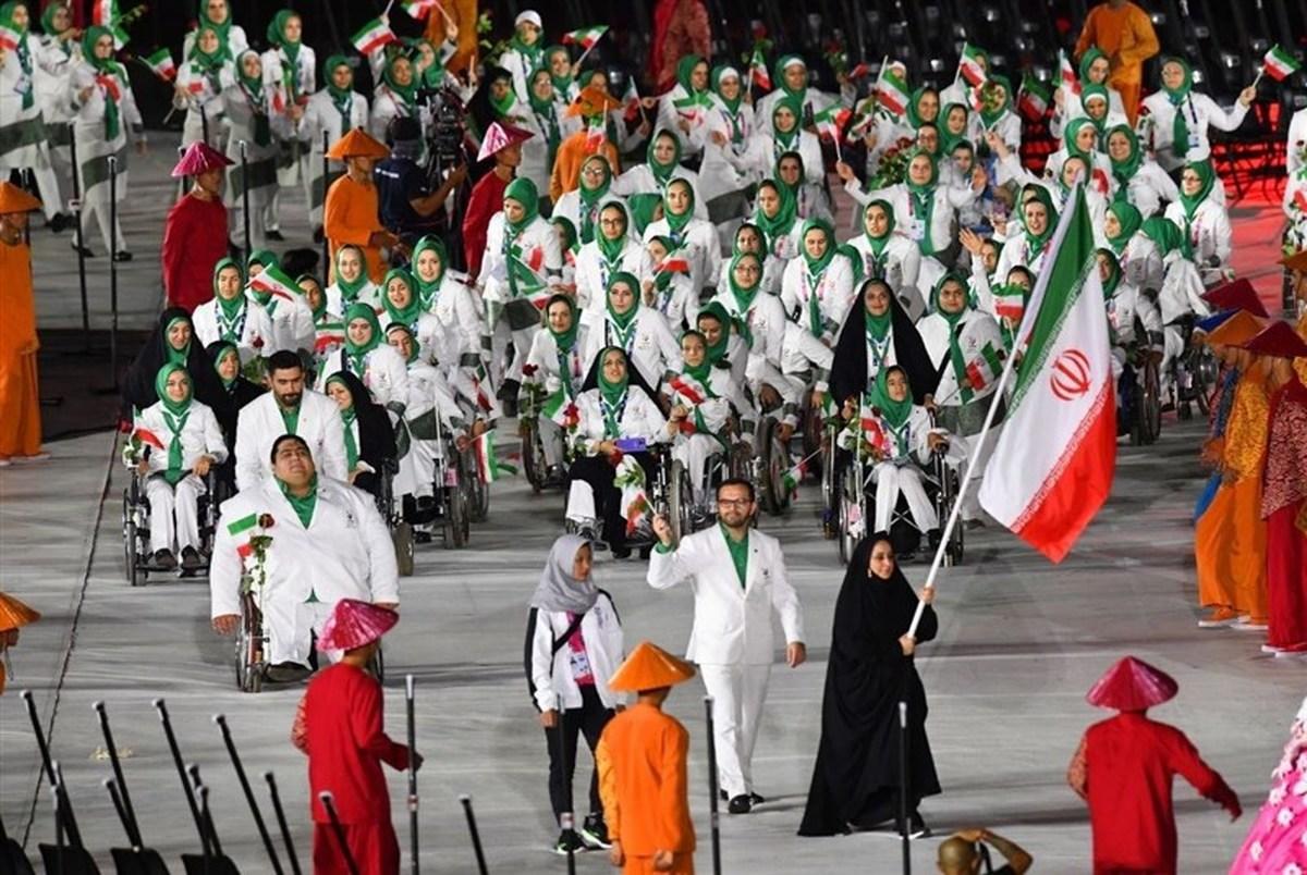 فهرست ١٦ پرچمدار ایران در بازی های المپیک
