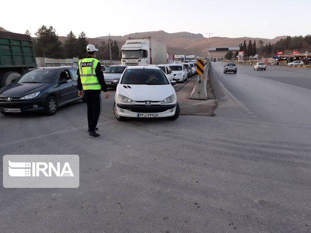 توقیف و جریمه خودروهای غیر بومی در ایلام