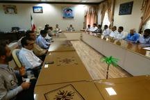 در پی هشدار هواشناسی ستاد مدیریت بحران در ایرانشهر برگزار شد