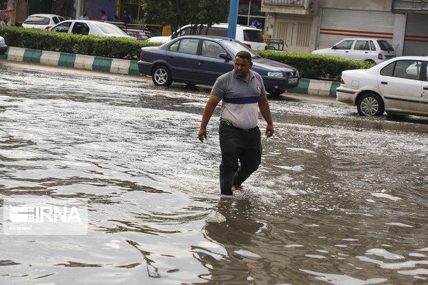 انتقادات مردم اهواز درخصوص آبگرفتگی پساز باران بهحق است