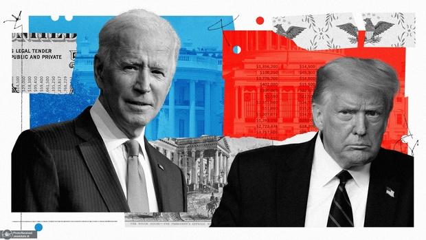 چک ها و دلارهایی که به انتخابات 2020 آمریکا سرازیر شدند
