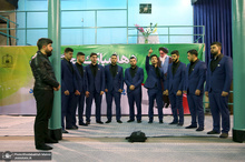 بازدید گروه تواشیح حاج رضوان از جماران