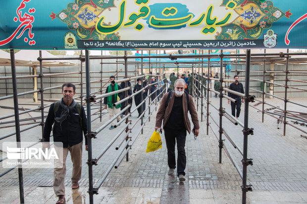 زائران و تجار از مراجعه به مرز مهران خودداری کنند