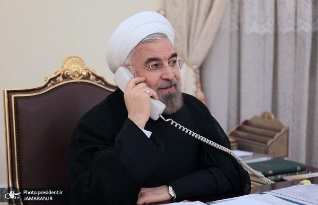 گفت و گوی روحانی و اشرف غنی/ اراده ایران گسترش روابط با افغانستان است