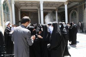 مراسم تشییع حجت الاسلام و المسلمین علی شیخ الاسلامی(ره)