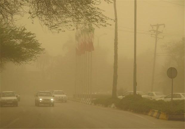 هوای زابل هفت برابر حد مجاز آلوده شد