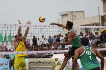 والیبالیست های گلستان درتور جهانی بابلسر مسابقه می دهند