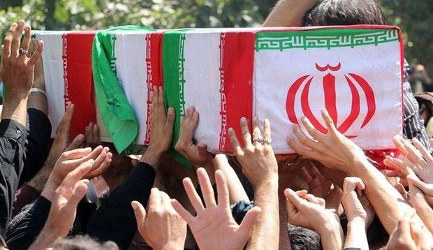پیکر مطهر جانباز شهید دوران دفاع مقدس در کرمانشاه تشییع شد
