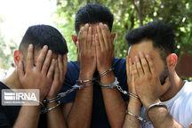 دستگیری سارقان حرفهای و سابقهدار در اهواز