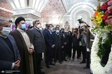 تجدید میثاق شهردار و اعضای شورای اسلامی شهر تهران با آرمان های امام(س)