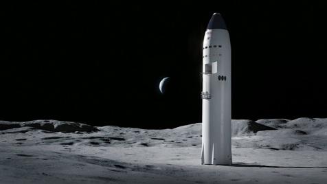 همکاری ناسا با اسپیس ایکس برای ماموریت فرود در ماه