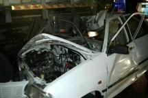 5 کشته و زخمی براثر تصادف زنجیرهای در اتوبان کرج