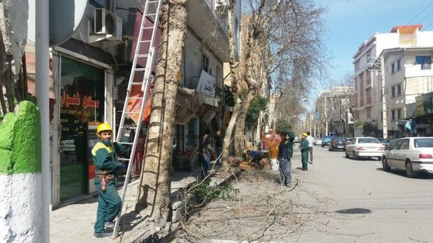 قطعی برق در برخی مناطق شهر کرمانشاه
