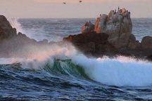 ارتفاع موج درشرق تنگه هرمز تا ۱۵۰ سانتیمتر در ساعت میرسد