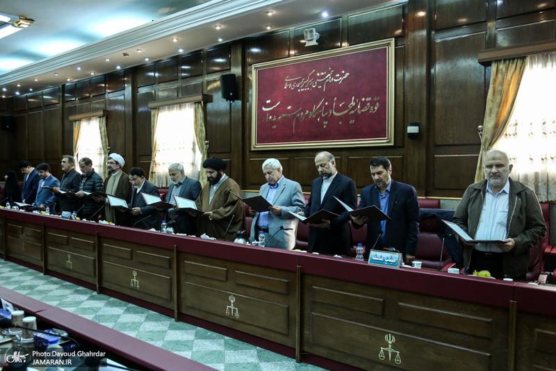آیین معارفه و تحلیف اعضای هیات منصفه مطبوعات