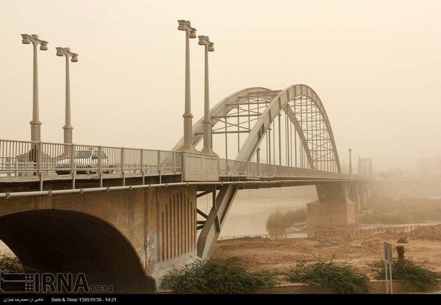ادامه آلودگی هوا در اهواز و سوسنگرد