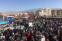 قدردانی استاندار البرز از حضور حماسی مردم در راهمپیمایی 22 بهمن
