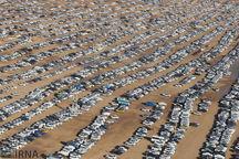 ظرفیت پارک بیش از ۶۰ هزار خودرو در مرز خسروی فراهم شد