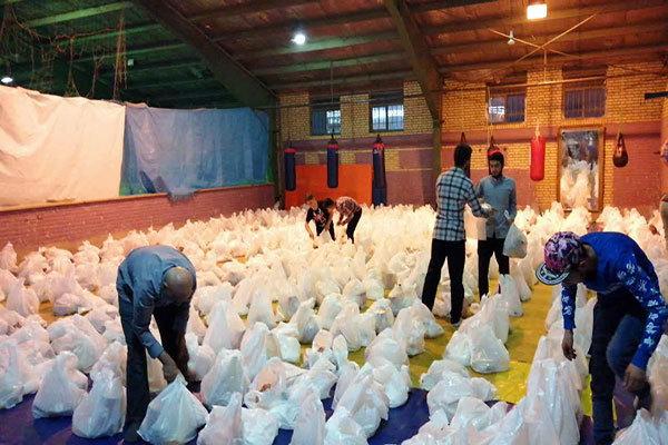 توزیع 30 هزار سبد معیشتی میان نیازمندان استان بوشهر