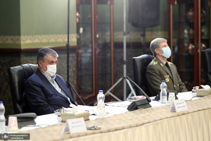 جلسه ستاد ملی مقابله با کرونا-21 تیر