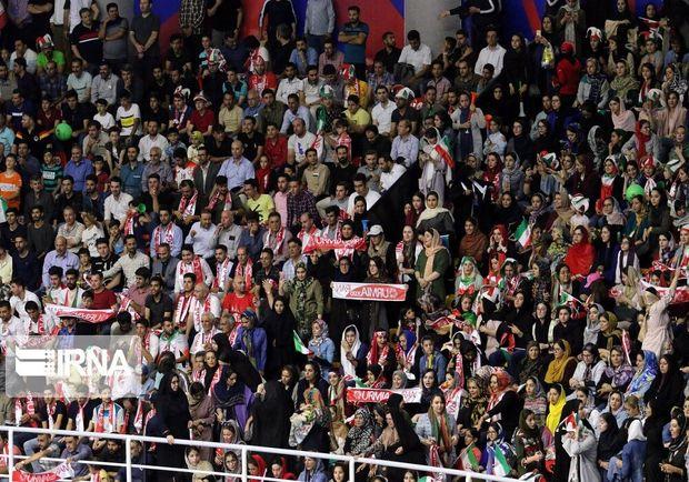 تماشای مسابقات انتخابی فوتسال قهرمانی آسیا در ارومیه رایگان است